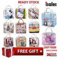 Ready stock ISALES Travel bag bag sekolah school bag tuition bag woman bag