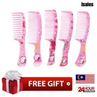Ready Stock Isales KT Cat Cartoon Design Hair Comb Hair Brush