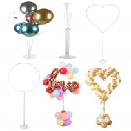 Party Decoration ISALES Balloons 1set Column table Stand Balloon Stand Clear Plastic Balloon Stick Birthday