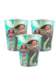 10pcs Moana Blue Party Disposable Drinking Paper Cup Birthday Party