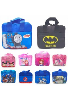 Ready Stock ISALES High Quality Cartoon Lunch Bag Kindergarten for kids